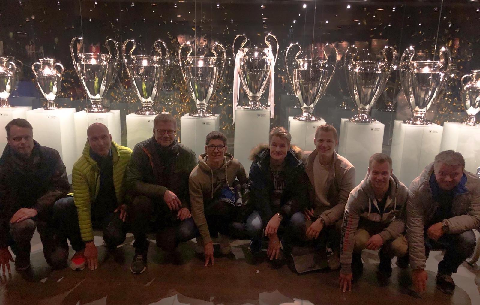Mannschaftsfahrt Tennis nach Madrid